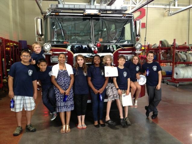 Junior Firefighter Last Day