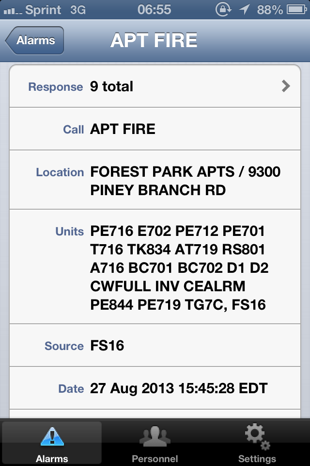 Multi-Alarm Apartment Fire on Piney Branch Road | Takoma Park